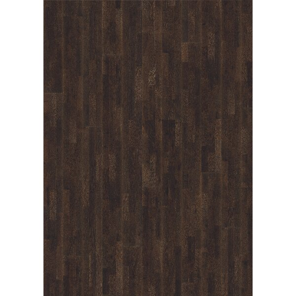 Harmony and Tropical 7-7/8 Engineered Oak Hardwood Flooring in Lava by Kahrs