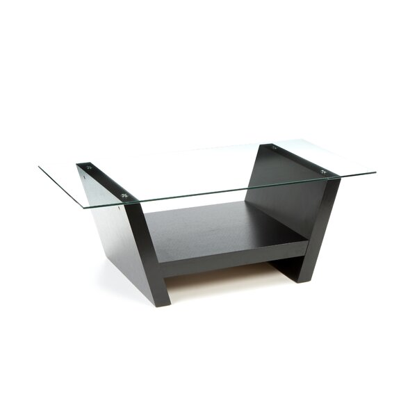 Toscano Sled Coffee Table With Storage By Brayden Studio