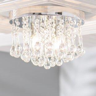 Alya 4-Light LED Flush Mount ByWilla Arlo Interiors