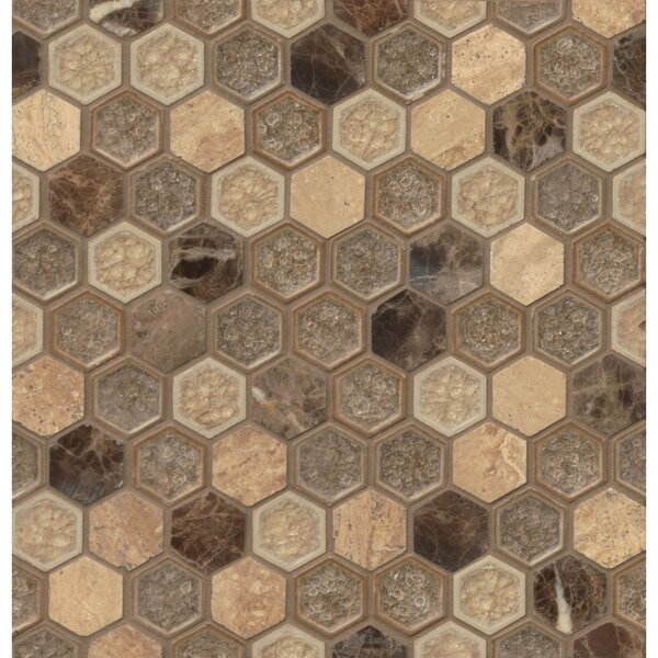 Verge Fantasy Hexagon Mosaic Tile by Grayson Martin