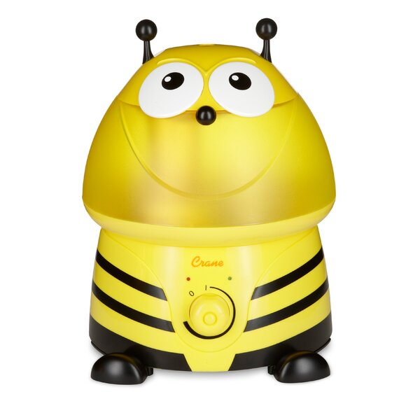 Buzz the Bumble Bee 1 Gal. Cool Mist Ultrasonic Tabletop Humidifier by Crane USA