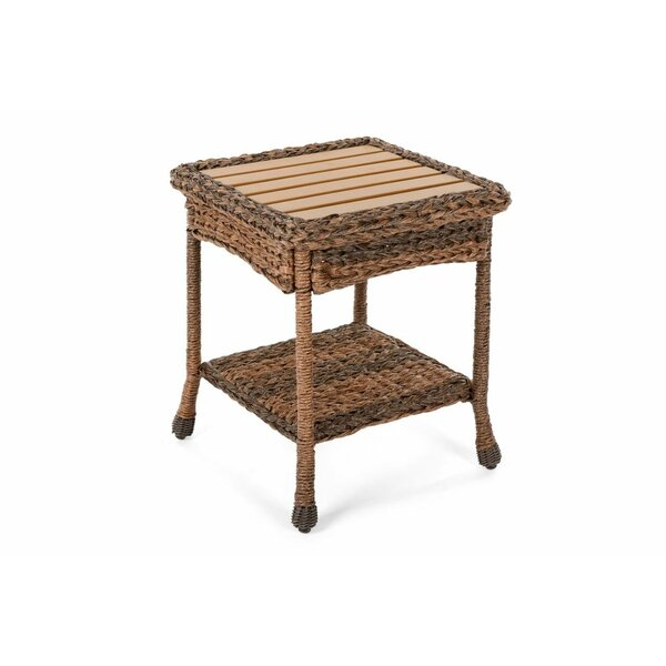 Grund Manufactured Wood  Side Table by August Grove