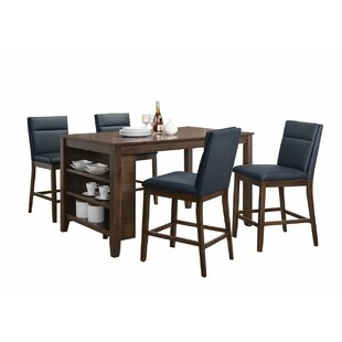 Lawhon Counter Height Dining Table  sc 1 st  Wayfair & Storage Kitchen u0026 Dining Tables Youu0027ll Love | Wayfair