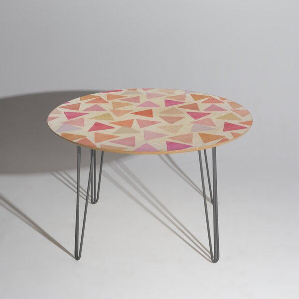 Hello Sayang Love Triangles Dining Table by East Urban Home