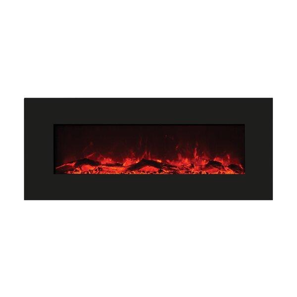 Medlar Wall Mounted Electric Fireplace By Orren Ellis