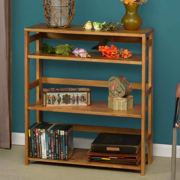 Gorgas Flip Flop Etagere Bookcase By Rebrilliant