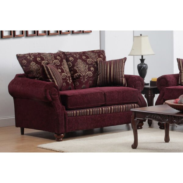 Modern Beautiful Henking Loveseat by Astoria Grand by Astoria Grand