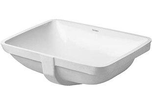 Buy clear Starck 3 Ceramic Rectangular Undermount Bathroom Sink with Overflow By Duravit