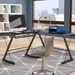 Find for Leanne L-Shape Computer Desk ByZipcode Design
