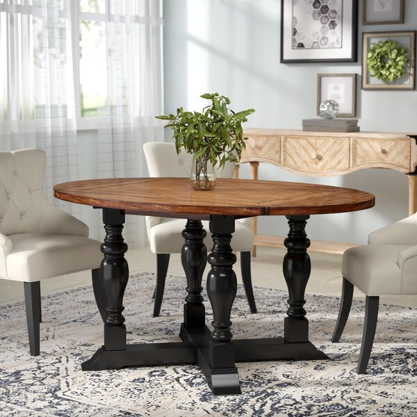 Wappinger Round Extendable Dining Table by Darby Home Co