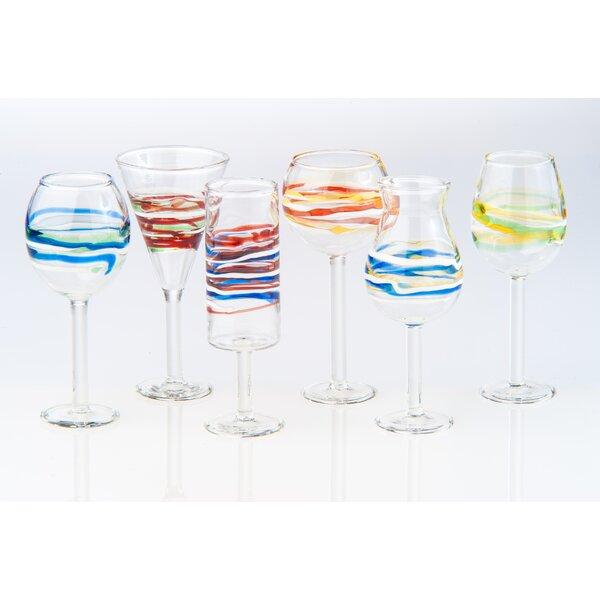 Isola 6 Piece Liqueur Glass Set by Abigails