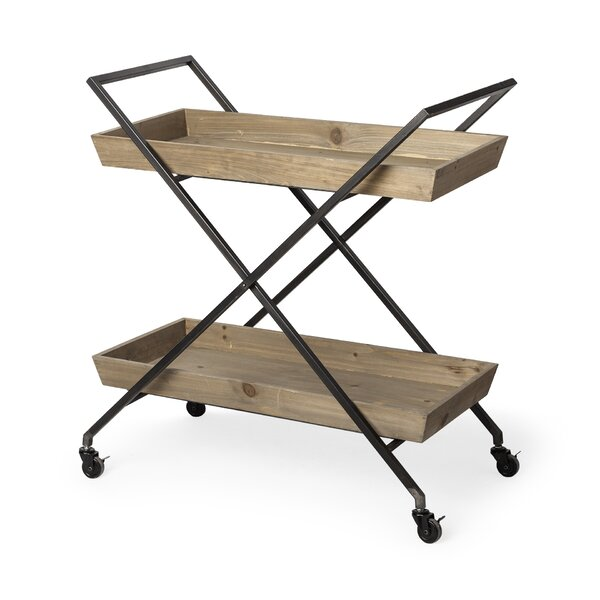 Trinidad Rolling Bar Cart by Foundry Select