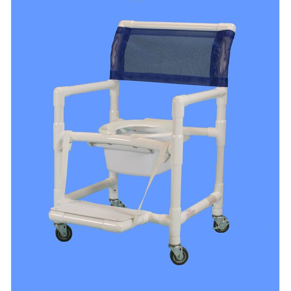 Wide Shower Commode Chair by Care Products, Inc.