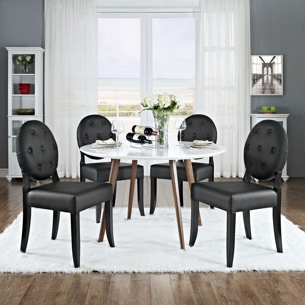 Courtnay Upholstered Dining Chair (Set of 4) by Willa Arlo Interiors
