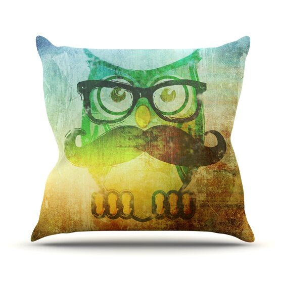 Howly Outdoor Throw Pillow by KESS InHouse