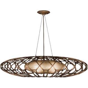 Entourage 3-Light Pendant by Fine Art Lamps