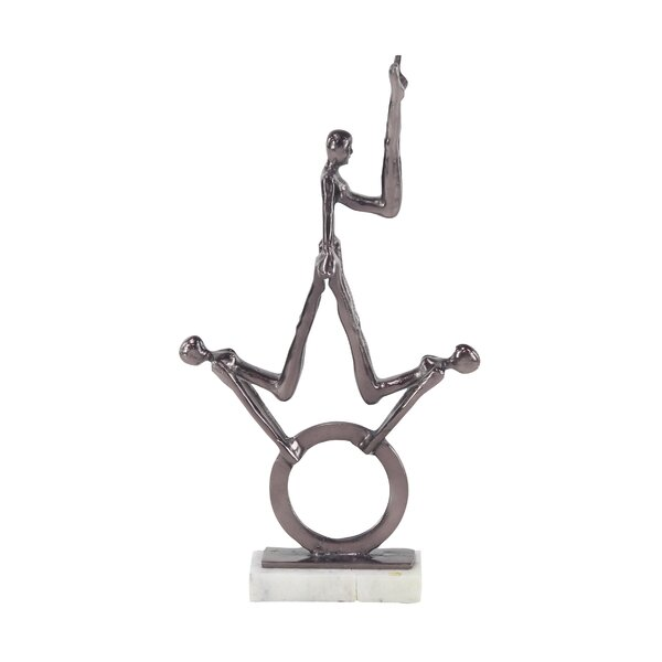 Henry Street Contemporary Gymnastic Metal Figurine by Ebern Designs