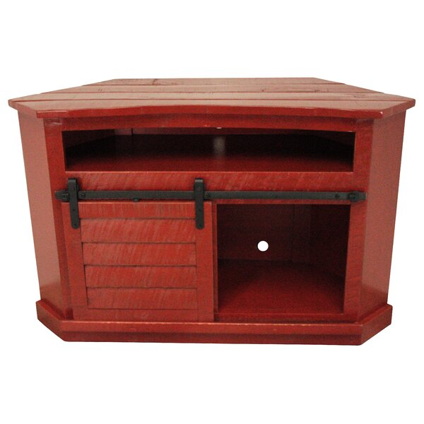 Maher Solid Wood Corner TV Stand For TVs Up To 50
