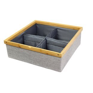Etonnant Twill Stackable Closet Storage Tray