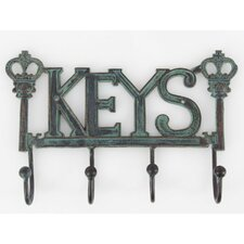 Prompting Key Sign Wall Hook by Ophelia & Co.