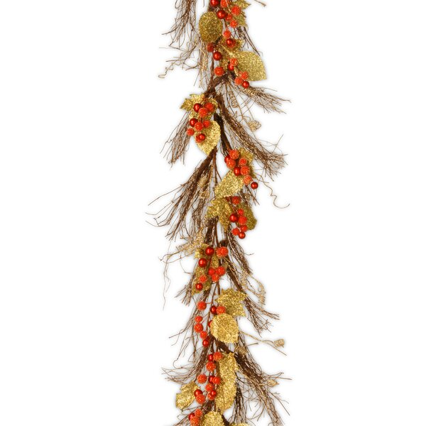 Berry and Leaf Vine Garland by National Tree Co.