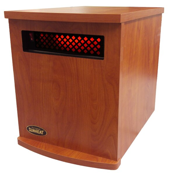 1,500 Watt Electric Infrared Cabinet Heater by SUNHEAT International