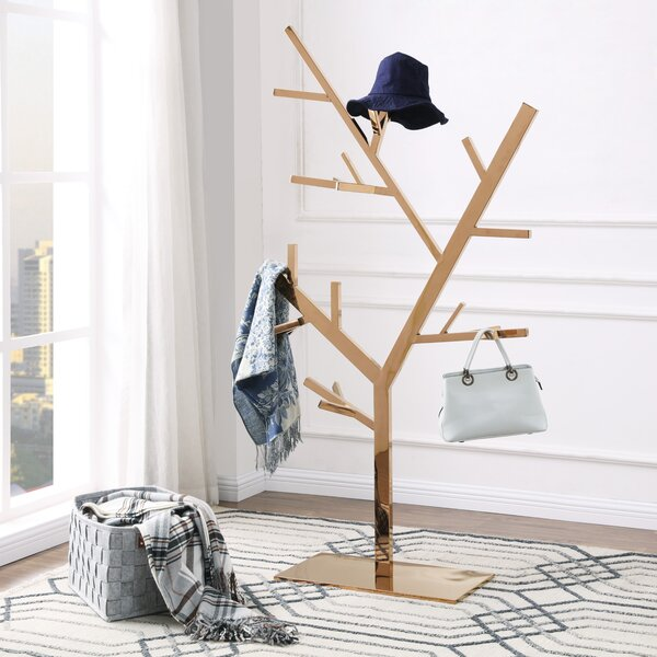 Plymouth Tree Hanger Coat Rack by Canora Grey