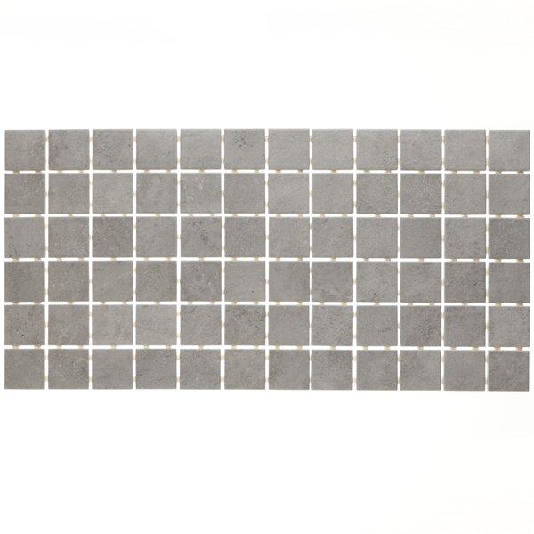 Fairfield 12 x 24 Ceramic Mosaic Tile in Ash Grey by Itona Tile