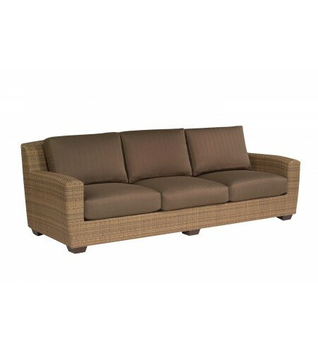 Saddleback 3 Piece Deep Seating Group with Cushions by Woodard