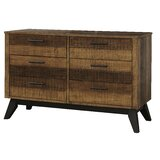 Hankerson 6 Drawer Double Dresser byIsabelle & Max