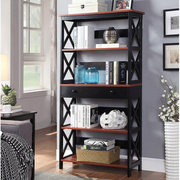 Gracelynn 5 Tier Standard Bookcase by Beachcrest Home