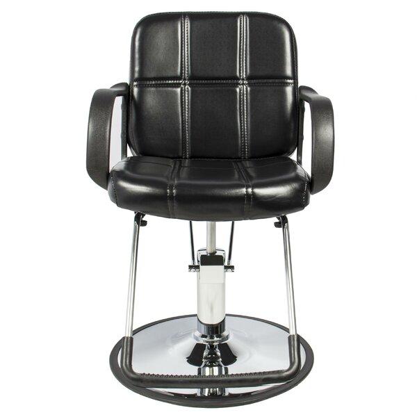 Classic Hydraulic Barber Reclining Massage Chair By Ebern Designs