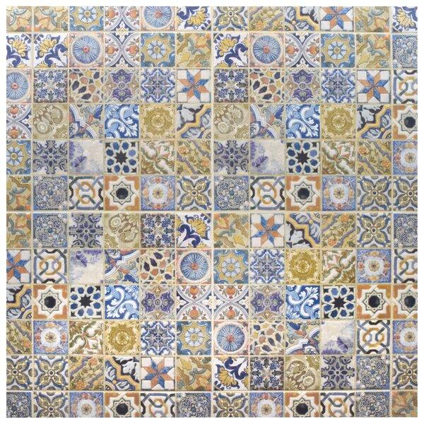 Obila 12.5 x 12.5 Ceramic Tile in Blue/Brown by EliteTile
