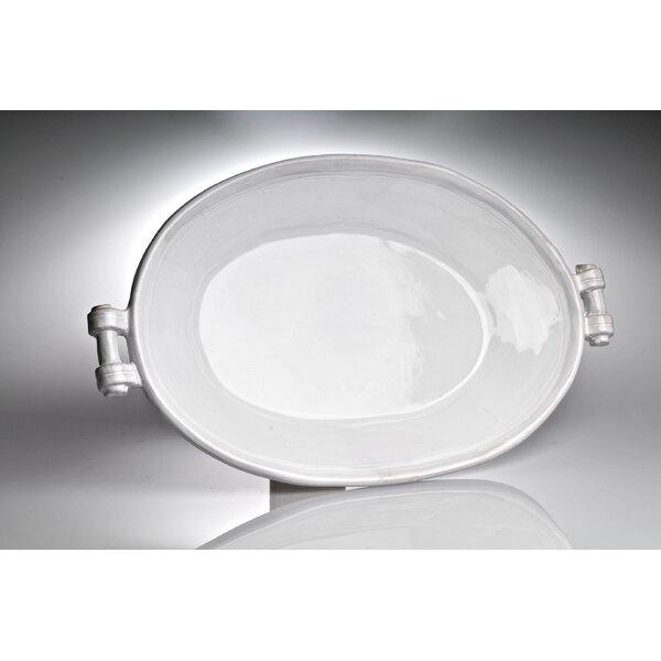 Casa Bianca Oval Platter by Abigails