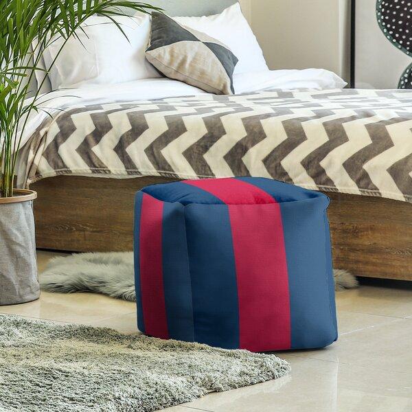 Arizona Stripes Cube Ottoman By East Urban Home