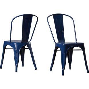 Genial Navy Blue Tufted Chair | Wayfair