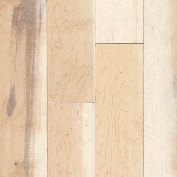 Artisan 6-3/4 Engineered Maple Hardwood Flooring in Effect White by Armstrong Flooring