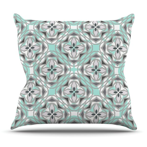 Winter Pool by Miranda Mol Outdoor Throw Pillow by East Urban Home