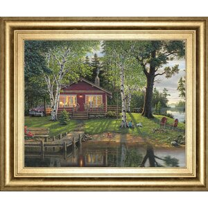 'Simpler Times' by Kim Norlien Framed Painting Print by Classy Art Wholesalers