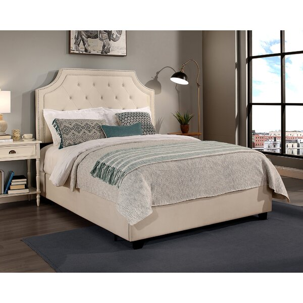 Devitt Upholstered Platform Bed with Mattress by Darby Home Co