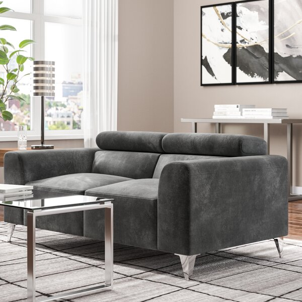 The Most Stylish And Classic Stefan Loveseat by Wade Logan by Wade Logan