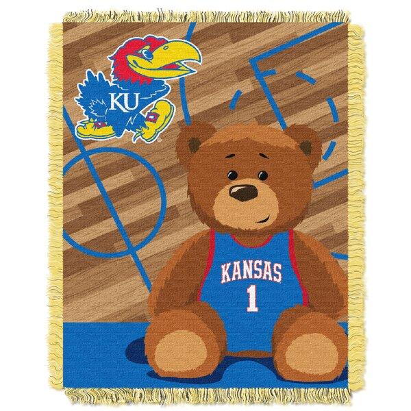 Collegiate Kansas Baby Blanket by Northwest Co.