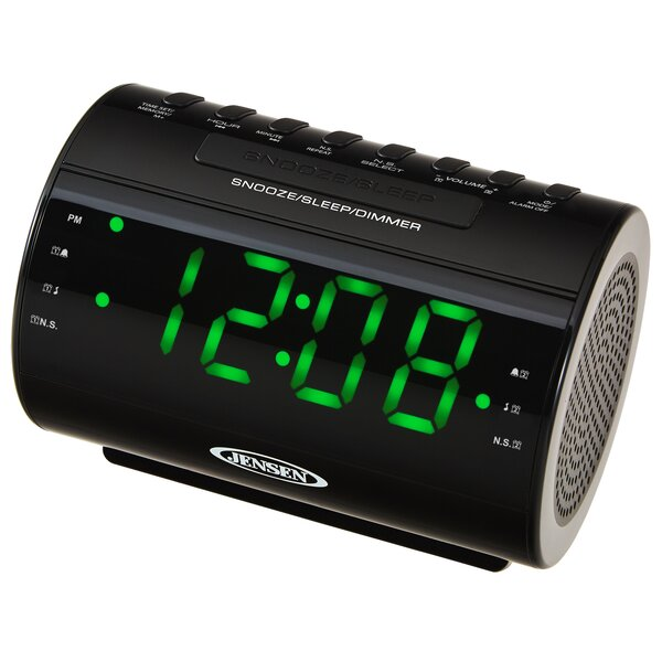 Am Fm Dual Radio With Nature Sounds Tabletop Clock By Jensen.