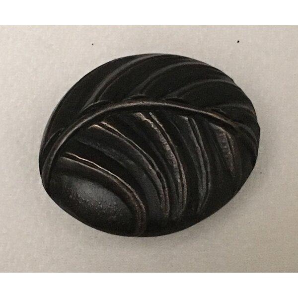 Palm Leaf Oval Novelty Knob by D'Artefax