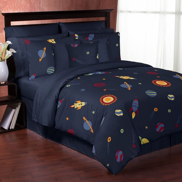 Space Galaxy Comforter Set by Sweet Jojo Designs