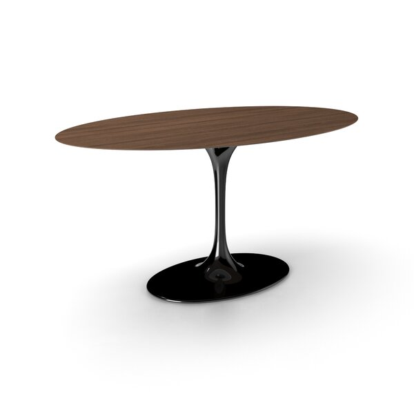 Larkson Wood Top Dining Table by Langley Street