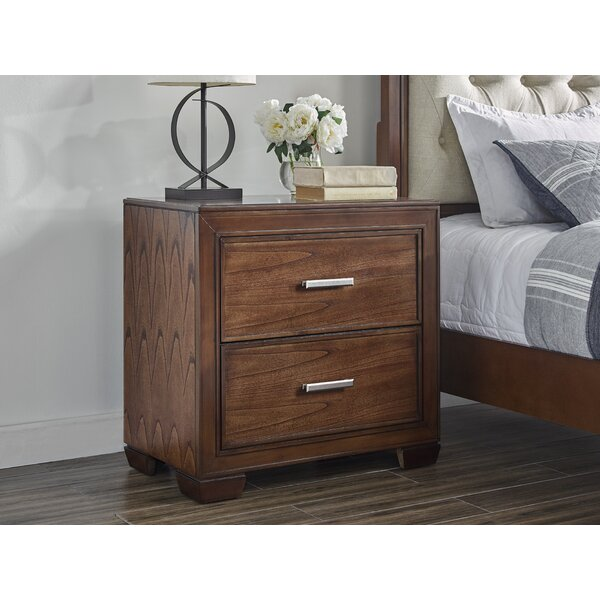 Robertsdale 2 Drawer Nightstand by Gracie Oaks
