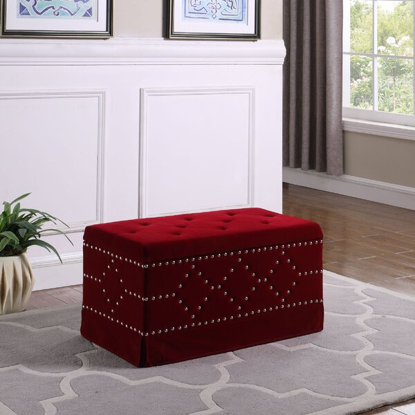 Alviso Upholstered Storage Bench by Mercer41