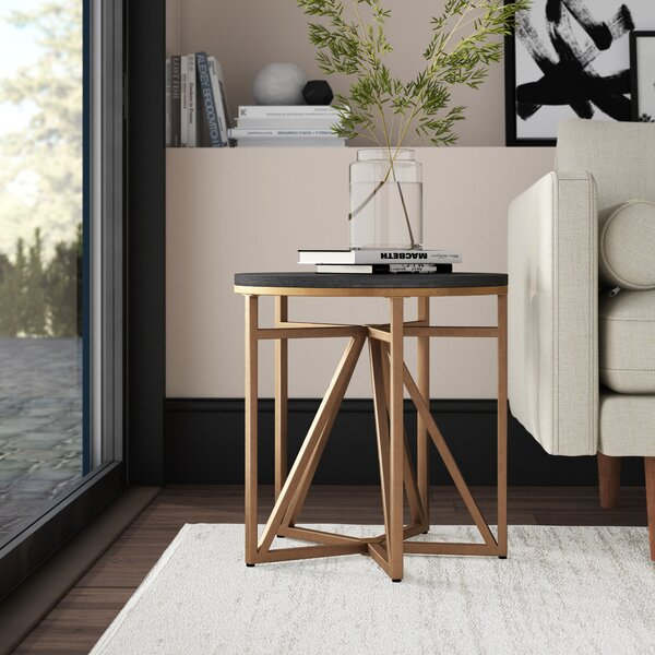 Carlo End Table by Mercury Row