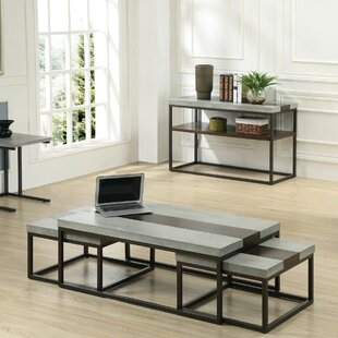 Cleavenger 3 Piece Coffee Table Set 17 Stories